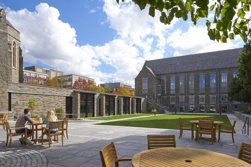 Cornell Law School Academic Center Receives BSA Honor Award