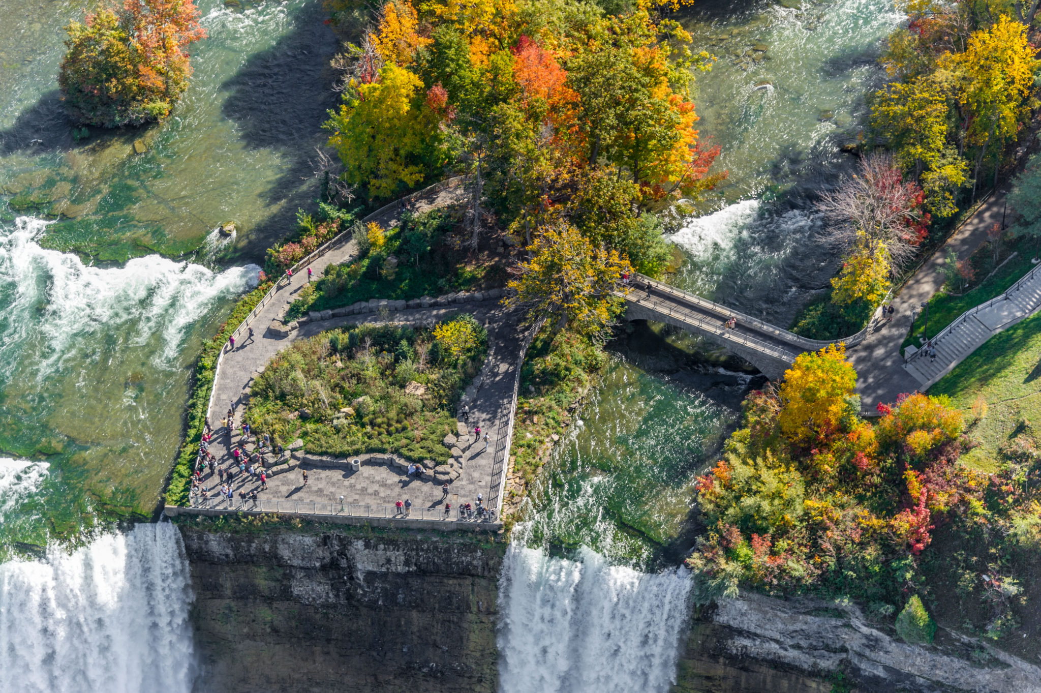 Niagara Falls Luna Island