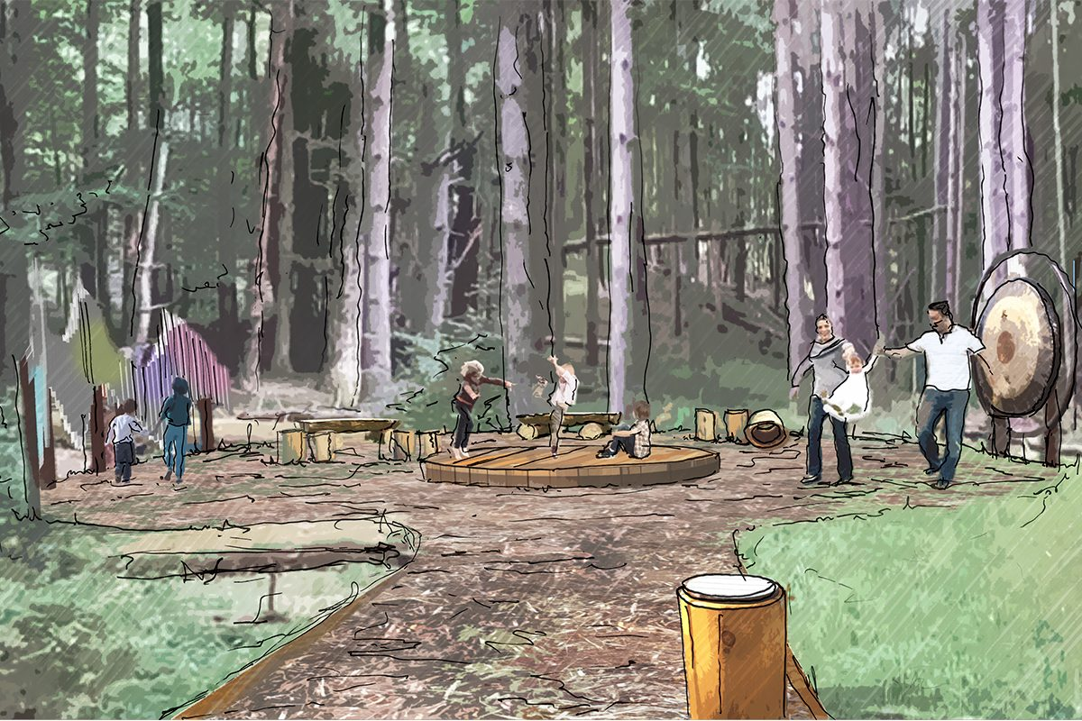 Grants support the Autism Nature Trail at Letchworth State Park