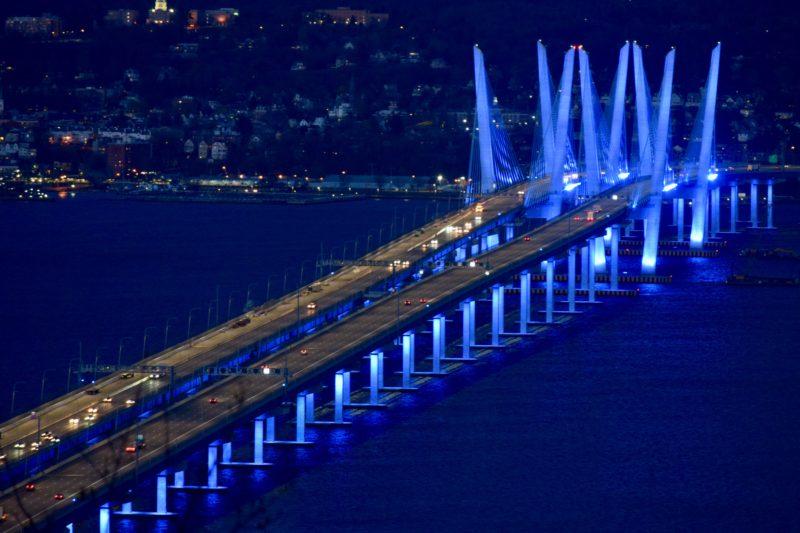 NY Governor Andrew Cuomo opens Shared Use Path on Governor Mario M. Cuomo Bridge