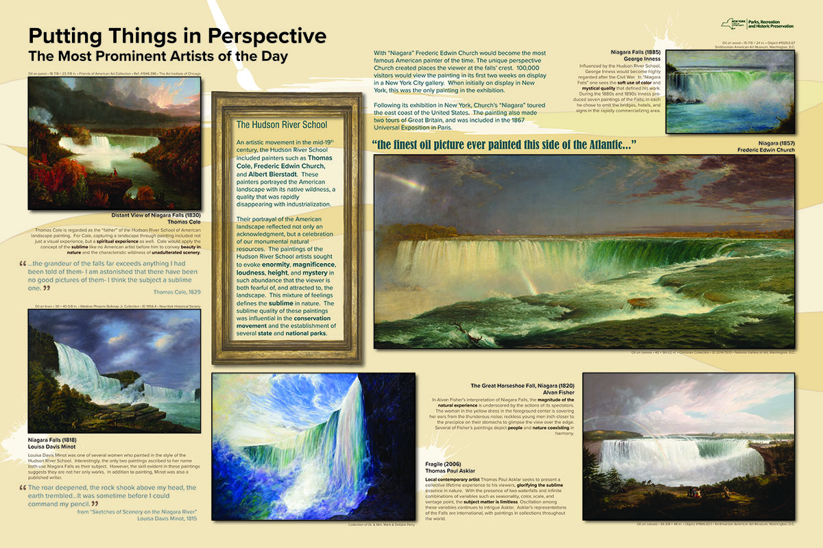TWMLA Receives a 2021 Merit Award for Communications for Niagara Gorge Signage