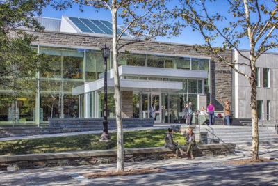 Cornell University Health Services Main Entrance
