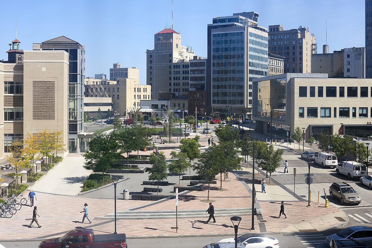 TWMLA Receives AIANYS Excelsior Award for Work at Rochester's Midtown