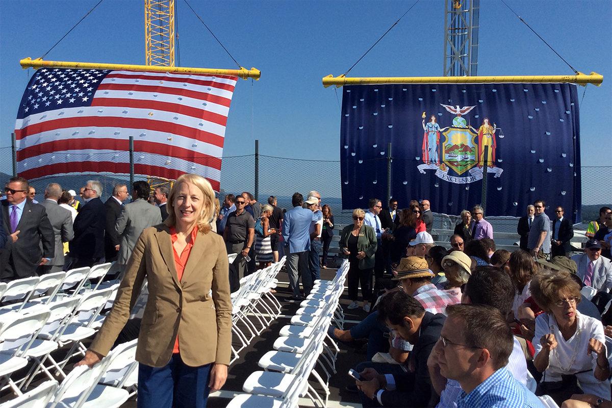 TWMLA Principal Kathryn Wolf Attends Ribbon Cutting of Gov. Mario M. Cuomo Bridge