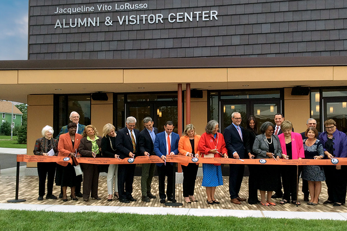 Ribbon Cutting at Buffalo State's New Alumni and Visitor Center