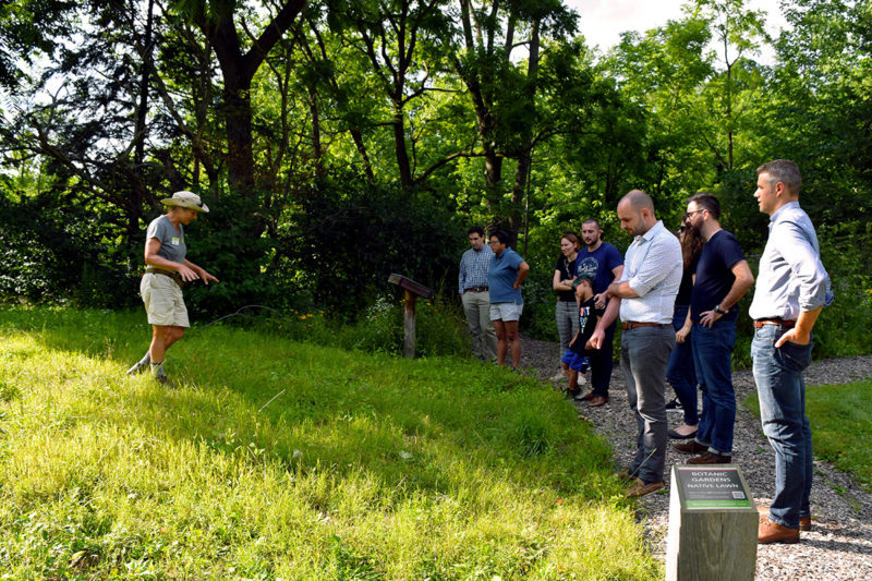 An Educational Excursion to the Mundy Wildflower Garden