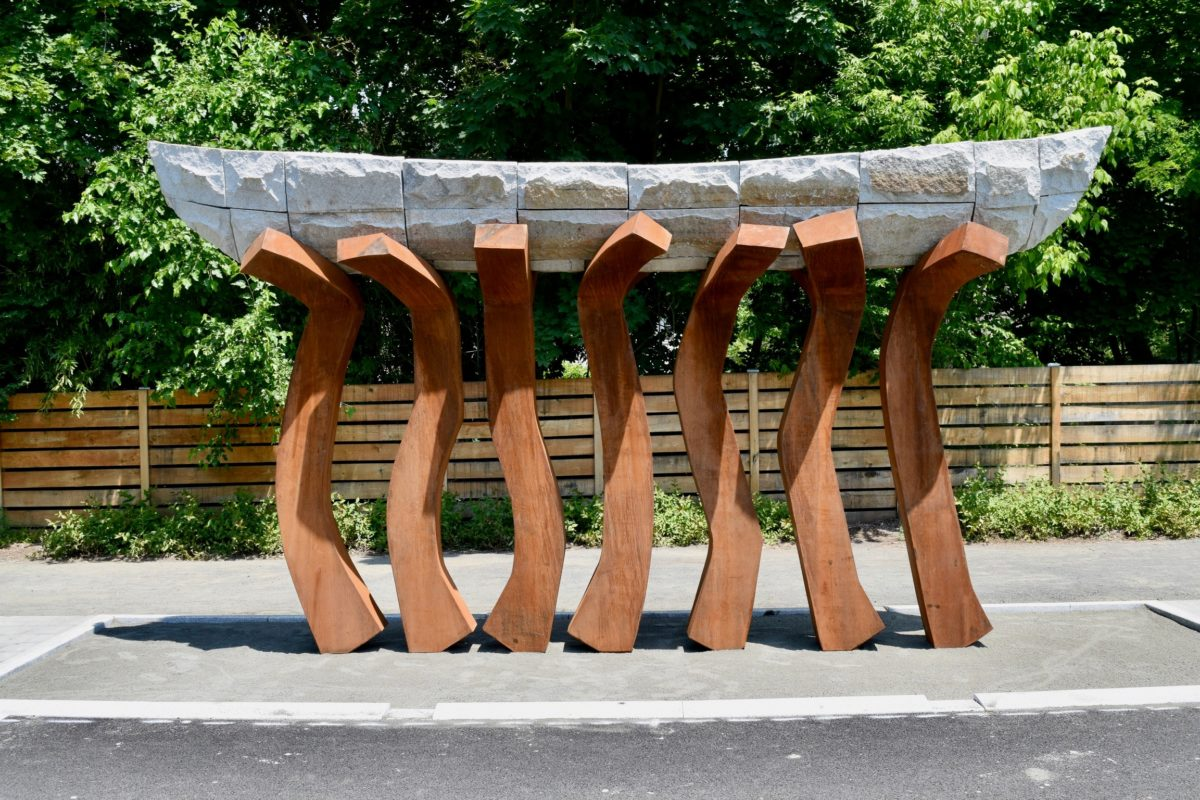 Public Art on the Governor Mario M. Cuomo Bridge SUP