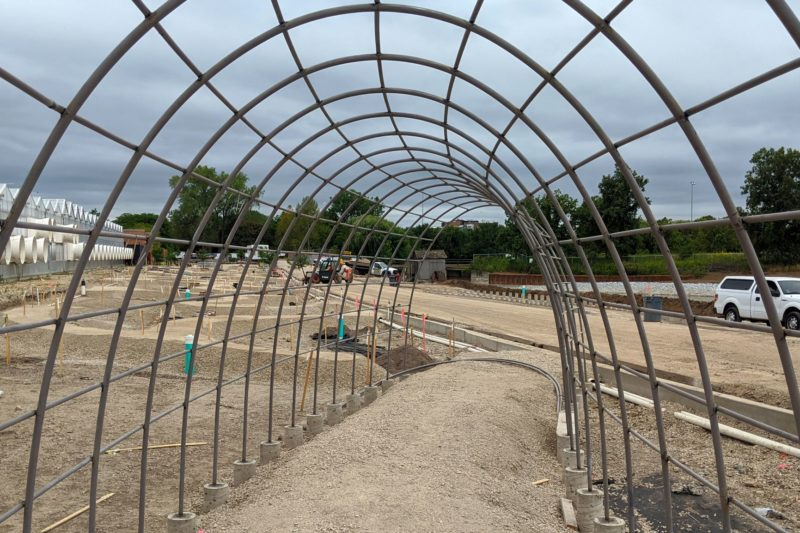 Chicago Botanic Garden project starts to take shape